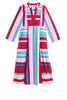 Giada Caftan Stripes Cold