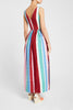 Julia Stripes Dress Cold