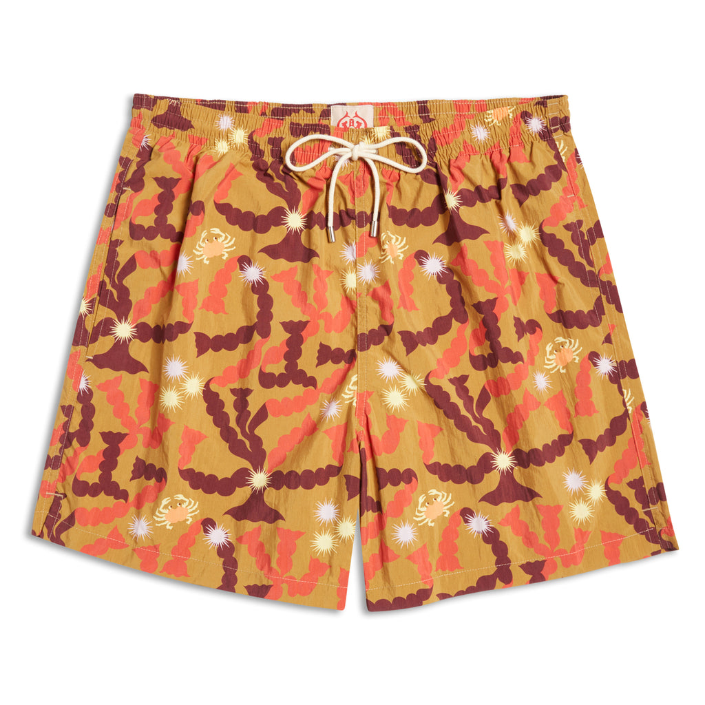 Pierre Marie Swimming Trunks Kaki