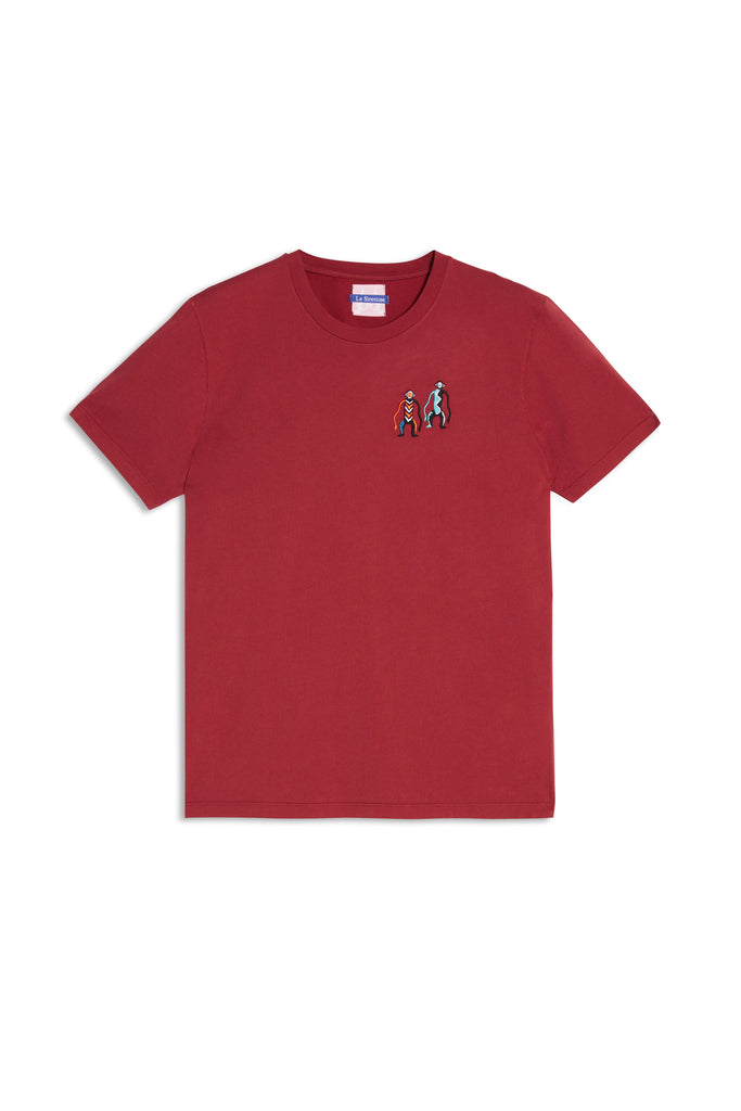 Monkeys T-Shirt Red Multi