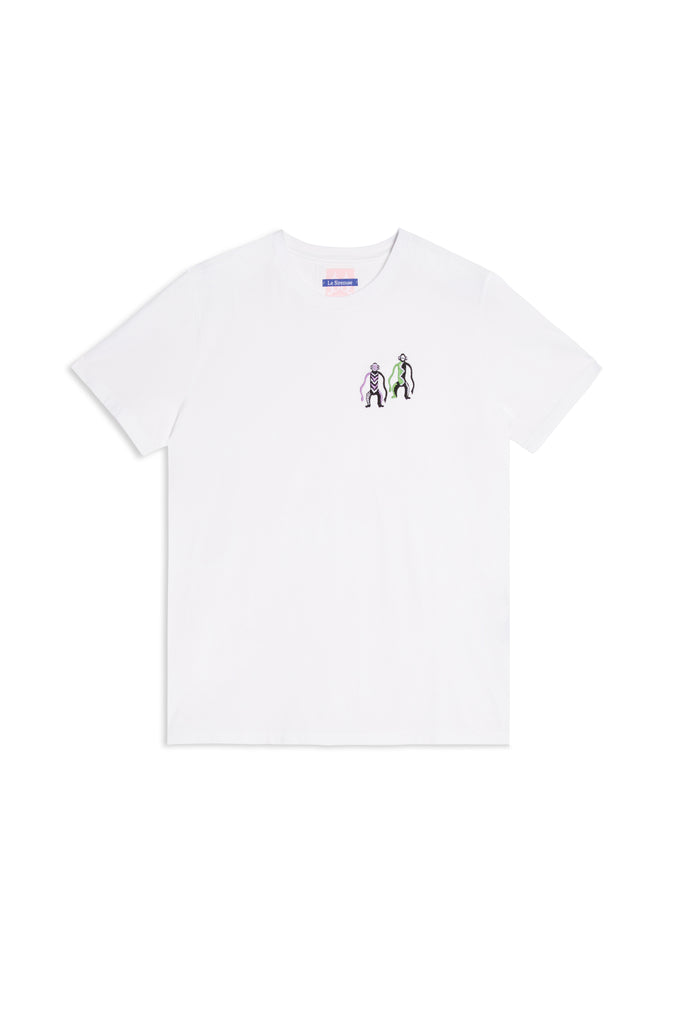 Monkeys T-Shirt White Multi