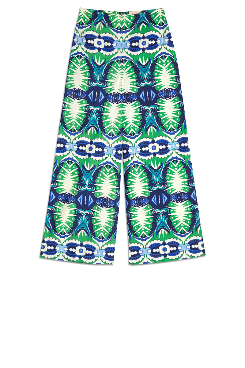 Stephan Fish Tail Pants Green