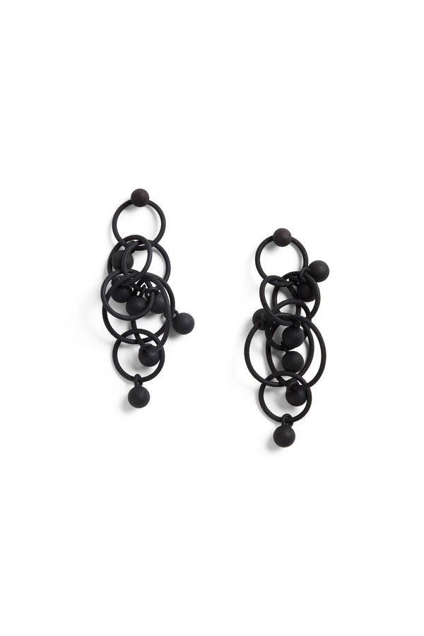 Sferette Earring  Black