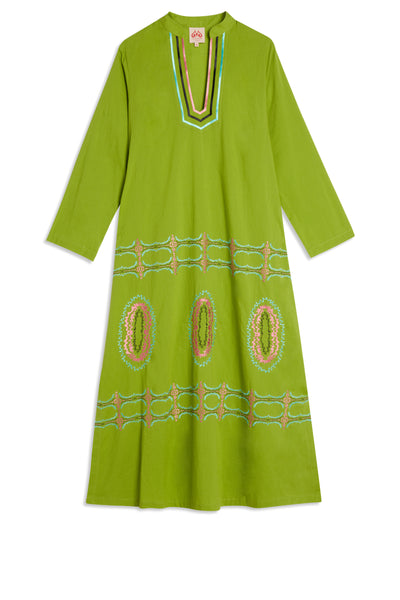 Malika Tunic Bubble Gum Green