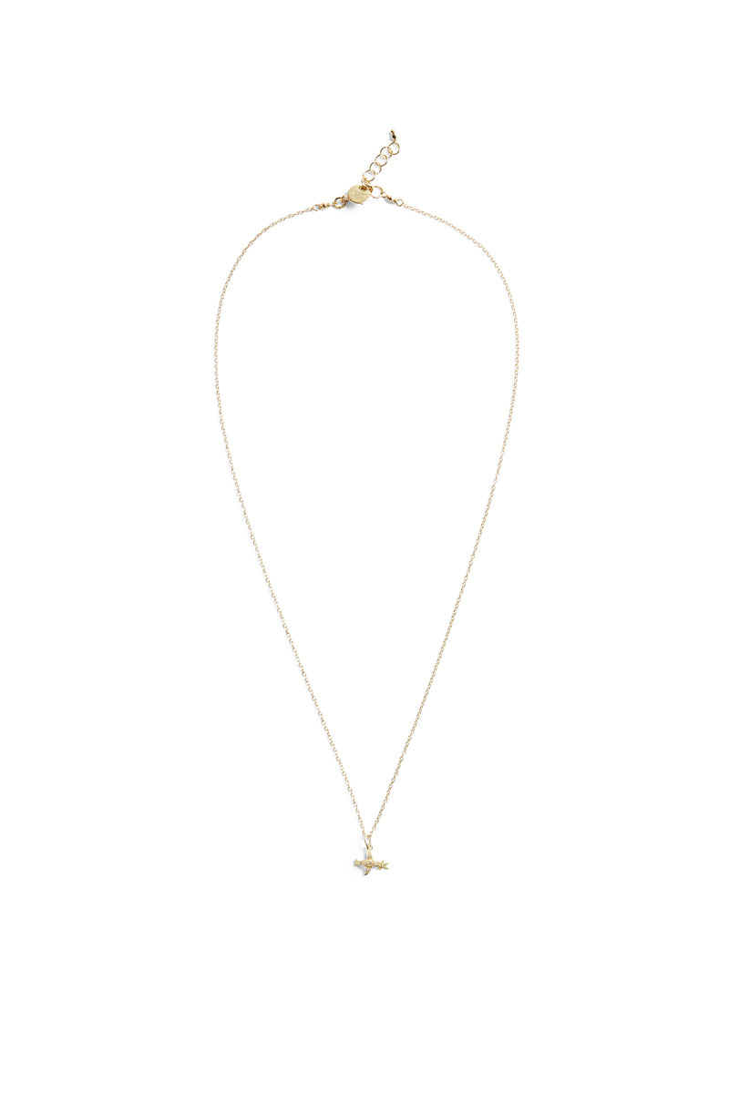 Bird  Necklace Gold