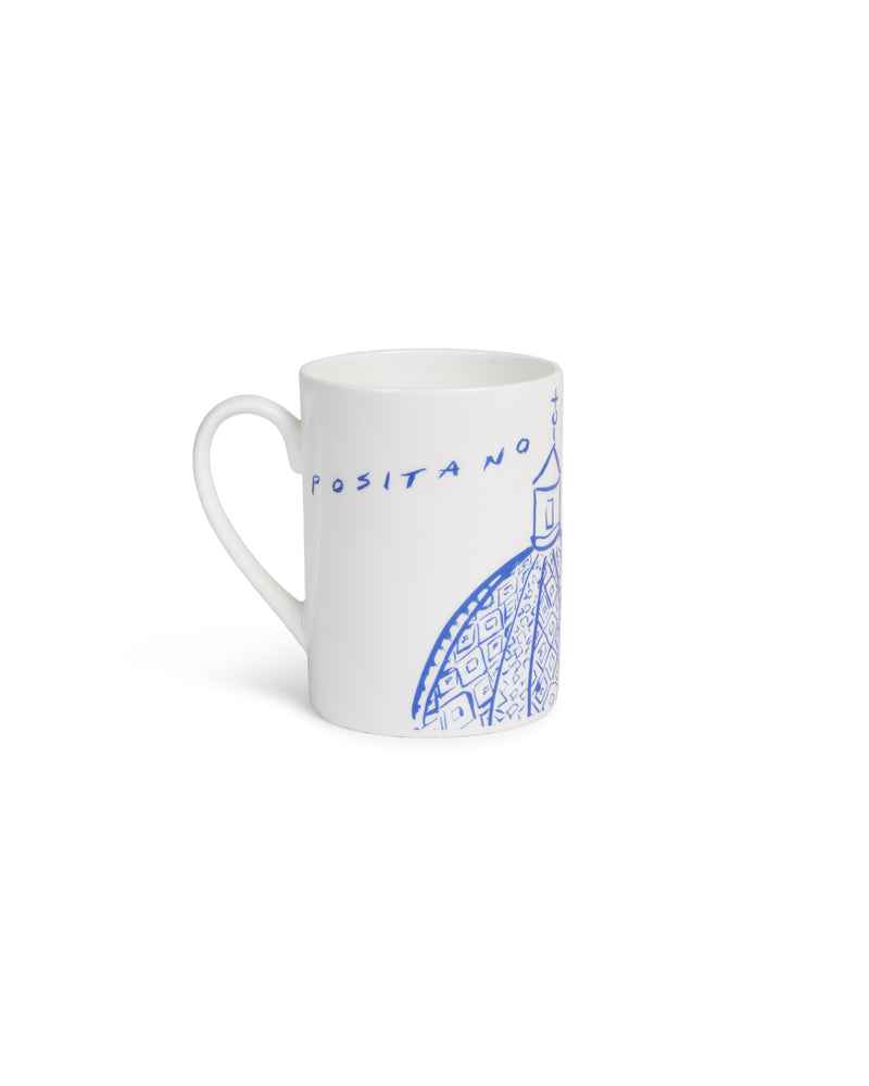 Luke Edward Hall Mug Blue