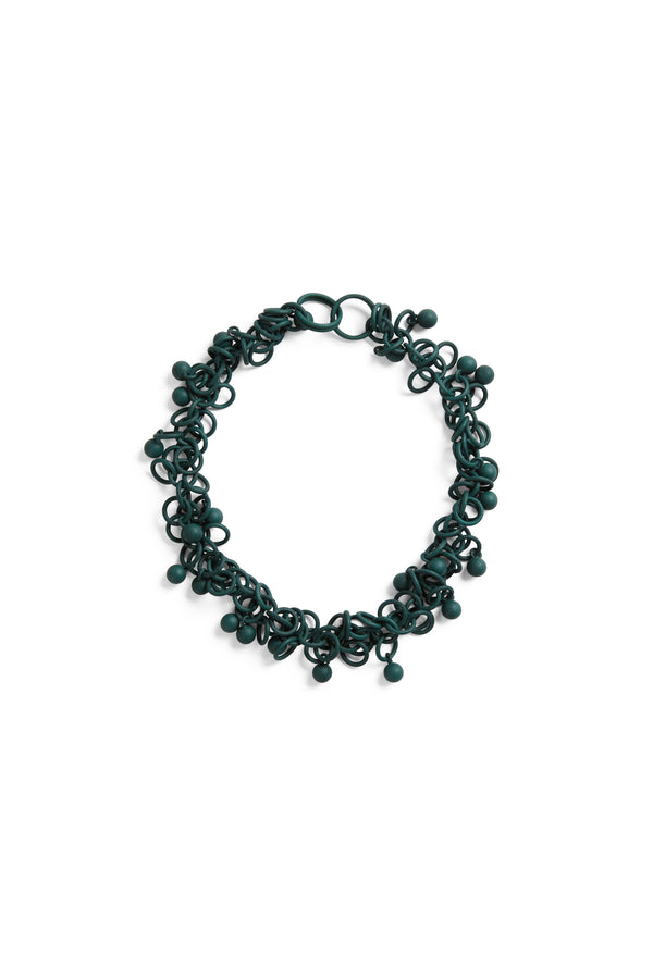 Sferette Chain  Teal