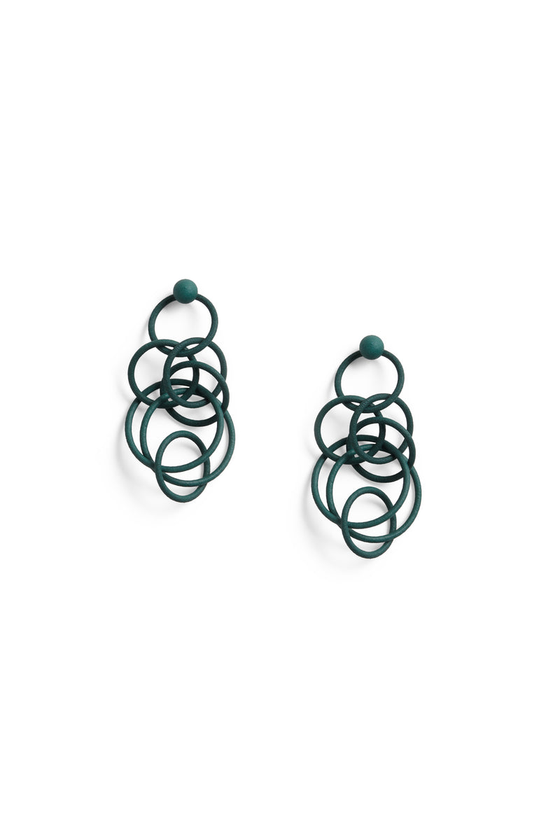Superleggera Earring  Teal