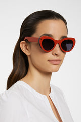 Lucy Folk Wingspan Sunglasses Granite