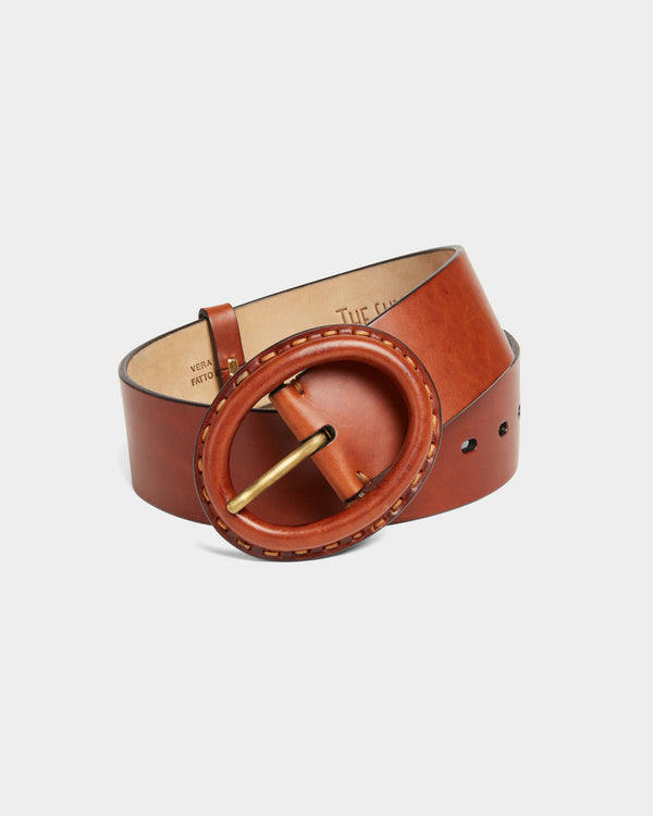 Belt Leather Sixties Natural