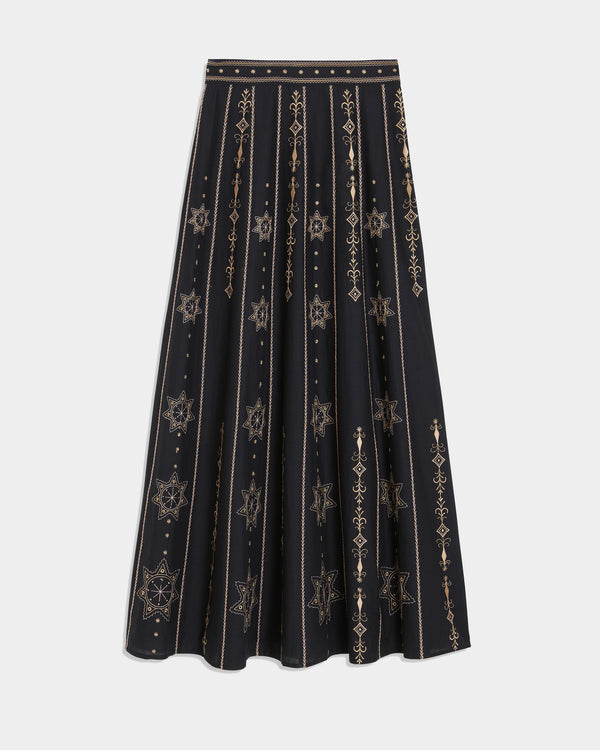 Camille Skirt Palazzina Chinese Black