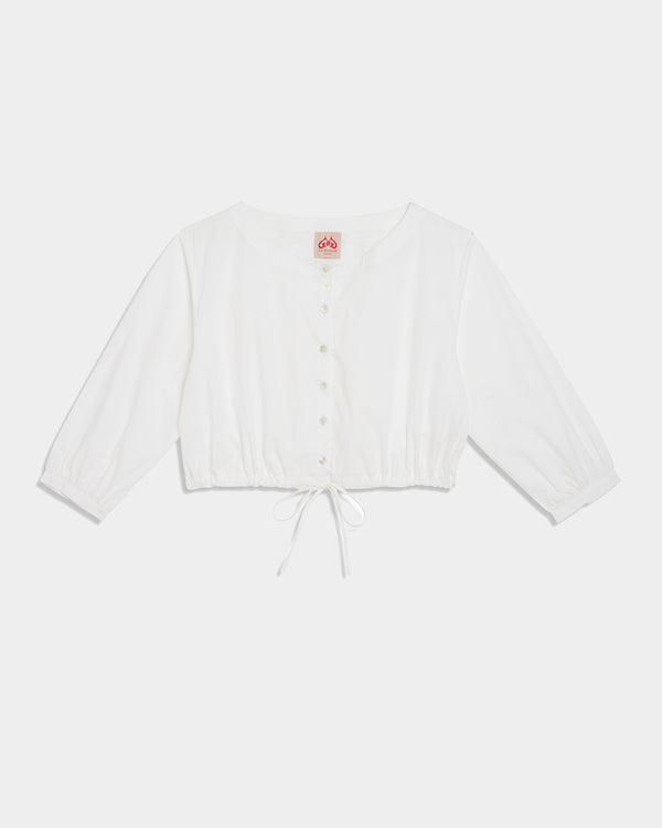 New Jinny Top Plain White