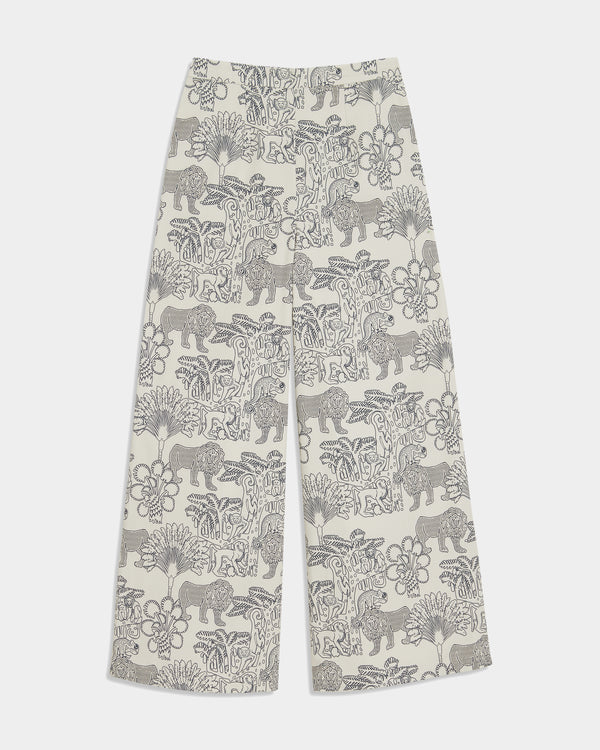 Natalie Pants Lion And Monkey Dark Blue