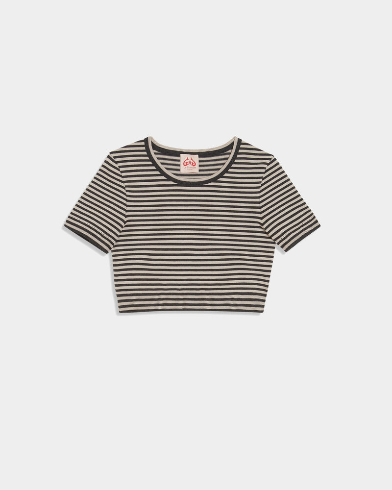 Lynx Old Knit Top Striped