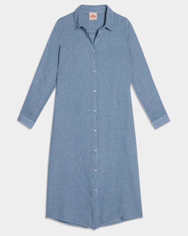 Dove Lightwind Long Shirt Indigo