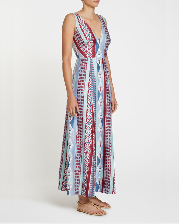 Nellie Arlecchino Dress Blue