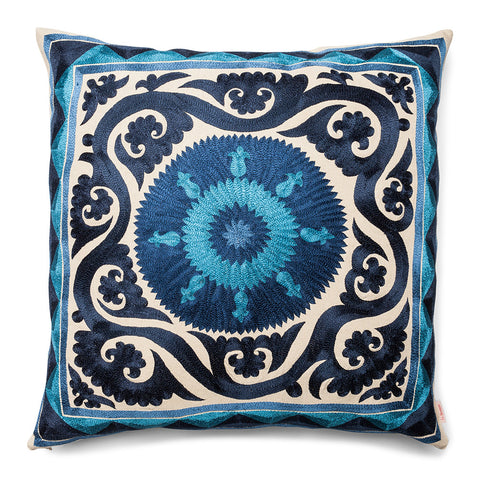 Square Silk Pillow New Baroque