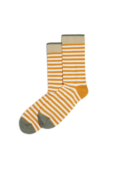 Stripes Rayure  Socks Miel