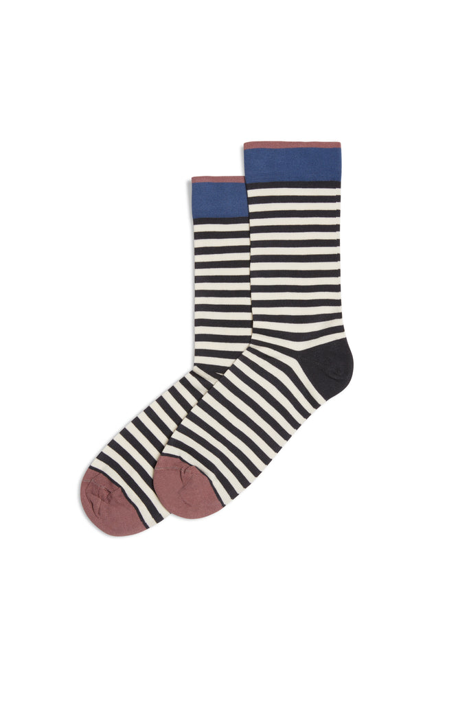 Stripes Rayure Socks Nuit