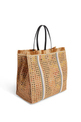 Raffia Shopping Bag J985  Natural
