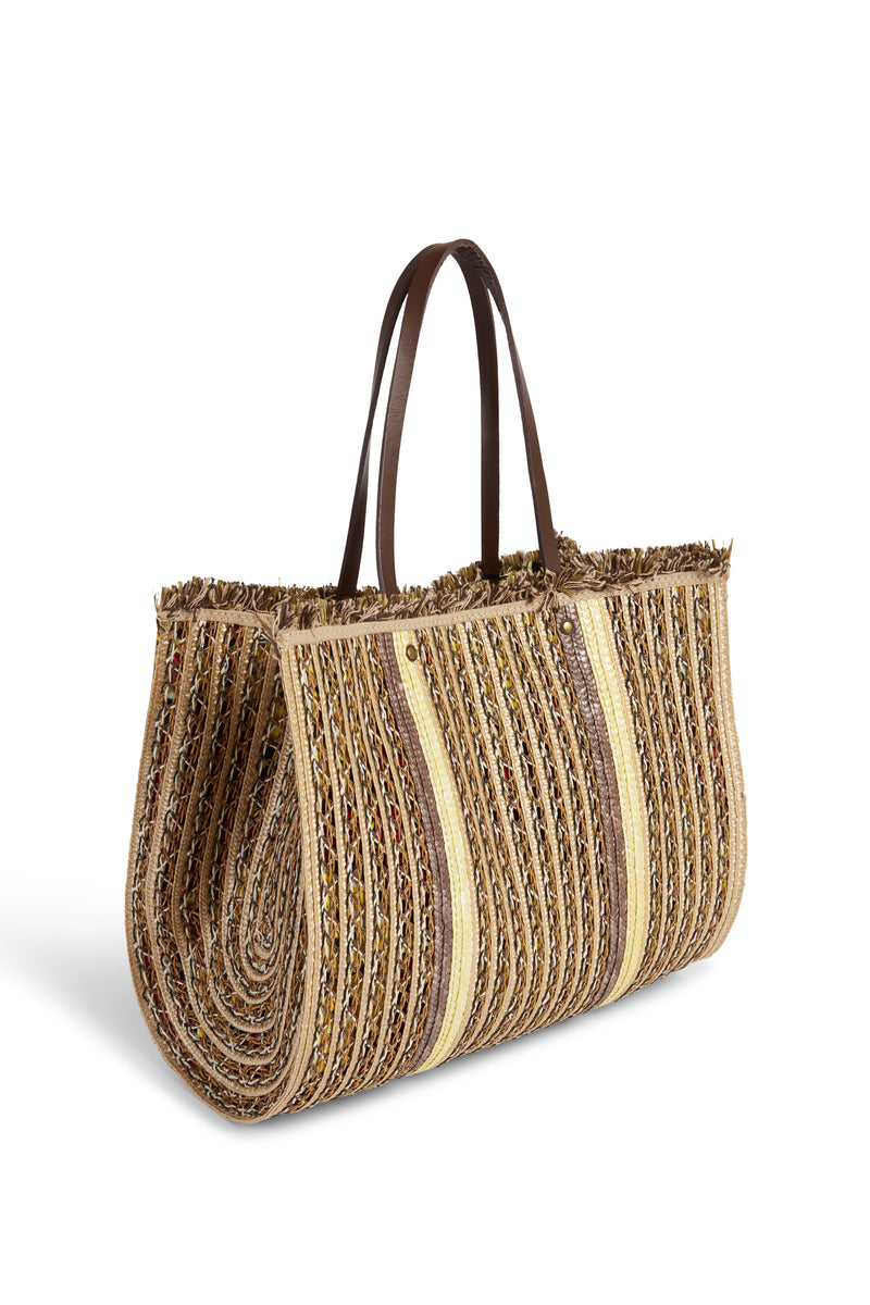 Raffia Shopping Bag J994 Natural