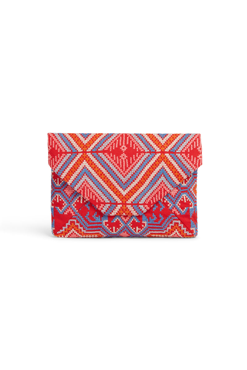 Envelope Clutch A Red
