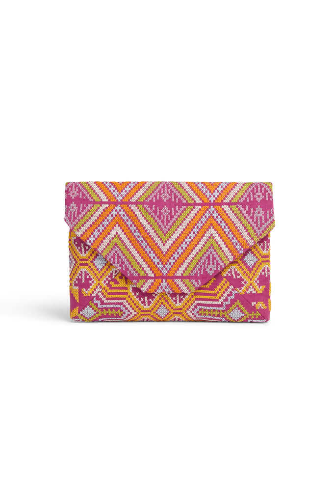 Envelope Clutch C Purple