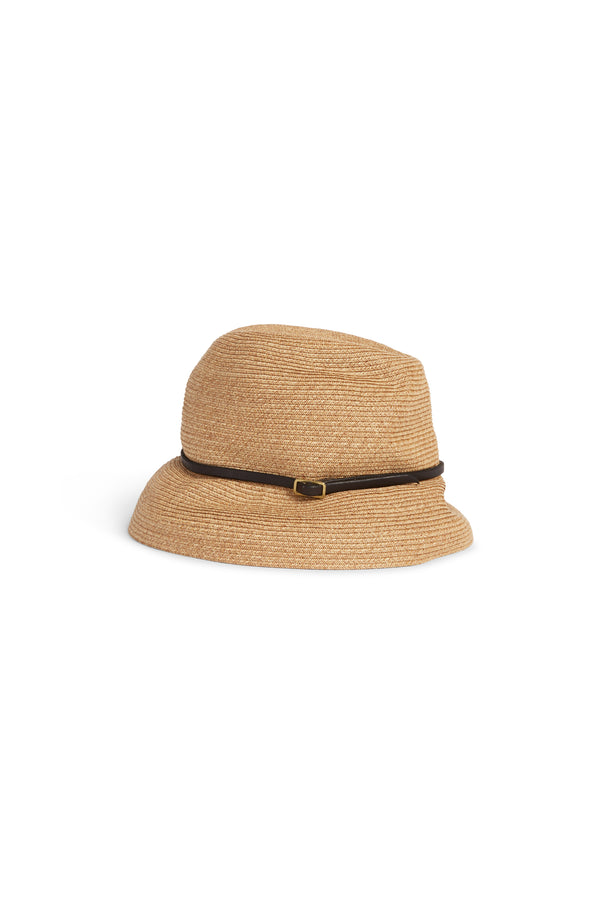 Boxed Hat 104 Brown Dark Brown