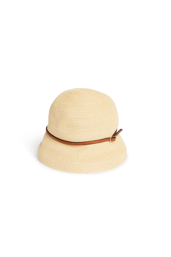 Boxed Hat 104 Natural Light Brown