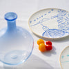 Luke Edward Hall Dessert Plate Blue