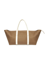 Metier For Le Sirenuse Rousseau Carry-All Mushroom  White Sand
