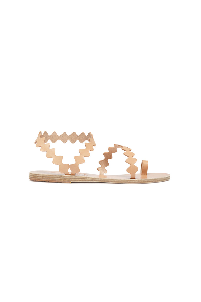 Ancient Greek Sandals X Le Sirenuse Elephteria Onda Natural