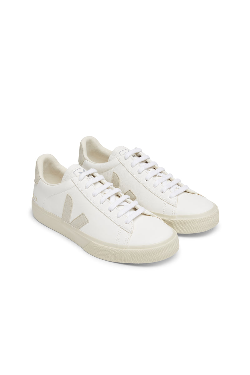 Women Campo Chromefree Leather  White Natural