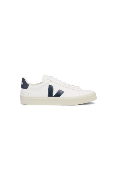 Women Campo Chromefree Leather  White Navy