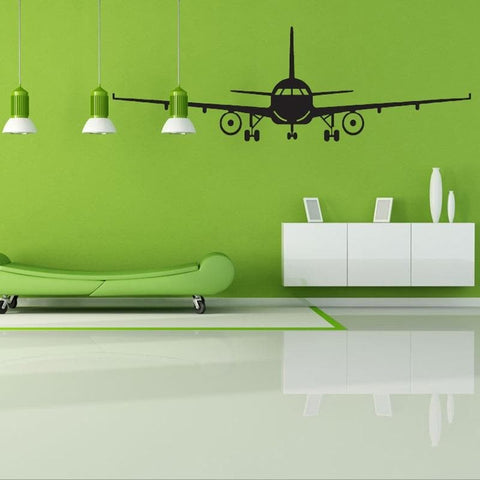 Large 3D Airplane Sticker / Decal