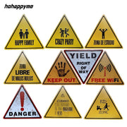 Triangle Tin Signs Spanish Metal Tin Sign  Gallery Poster - Poster - Gallery Poster
