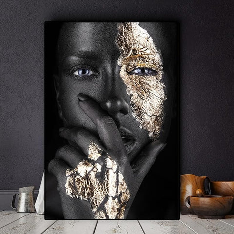 gold-one-eye-african-canvas-art-print
