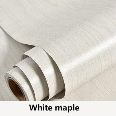 PVC-Wood-Wallpaper-Décor-for-white-maple