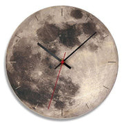 Modern-Wood-Moon-Wall-Clock- Home-Décor