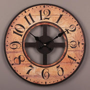 Vintage-Wooden-Wall-Clock-Home-Décor-2