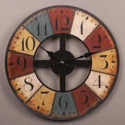 Vintage-Wooden-Wall-Clock-Home-Décor 1