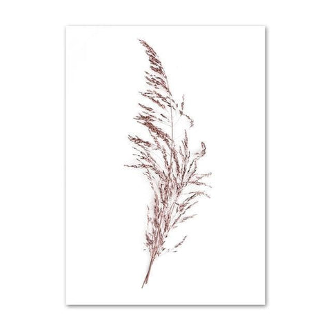 Pink-Reed-Grass-Flower-Plant-Wall-Art