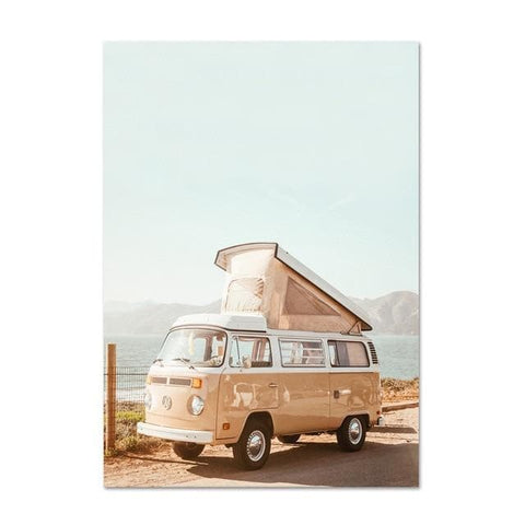 California-Beach-Summer-Wall-Art-Print-beetle-Volkswagen-van