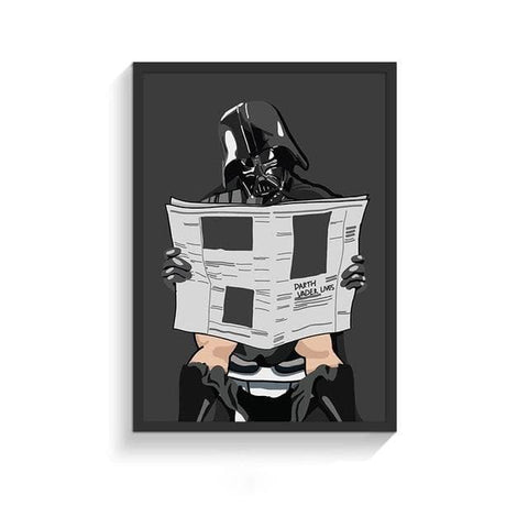 Funny-Super-Heroes-Toilet-Poster-darth-vader