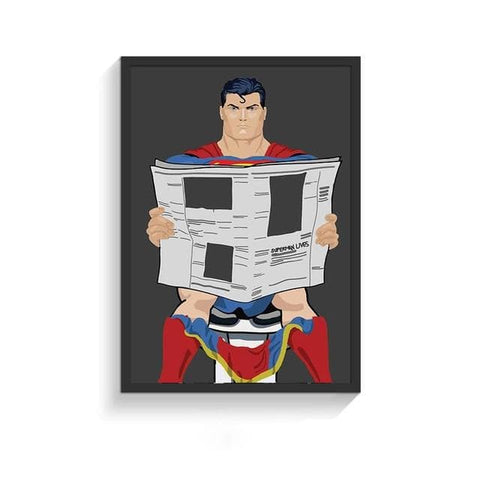 Funny-Super-Heroes-Toilet-Poster-superman