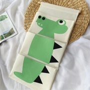 Cartoon Wall Hanging Storage Bag Décor-crocodile