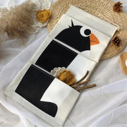 Cartoon Wall Hanging Storage Bag Décor-penguin