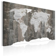 Classical-World-Map-Canvas-Art-Print-grey