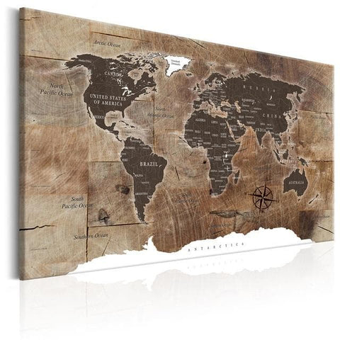 Classical-World-Map-Canvas-Art-Print-brown