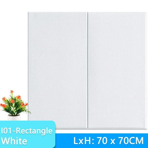3D-Wallpaper-rectangle-tile-white